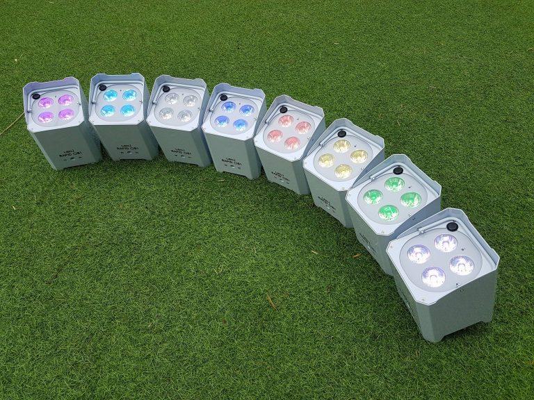 Battery uplights