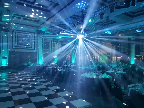 Mirror Balls (Various Sizes) – With Pin Spots/Rotators – Where Required