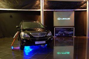 Car Showroom Draping and Lighting