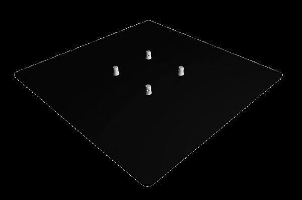 1000x1000mm Base Plate - Image