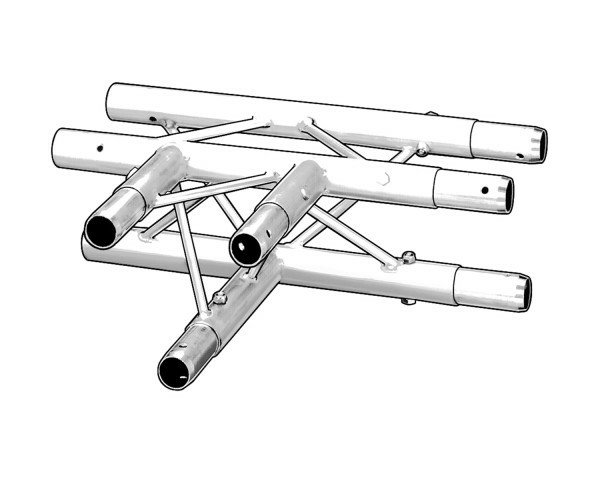 3 way T-Section
