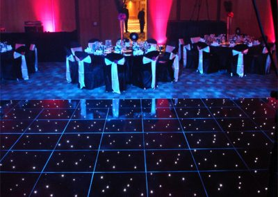 Black LED Dancefloor